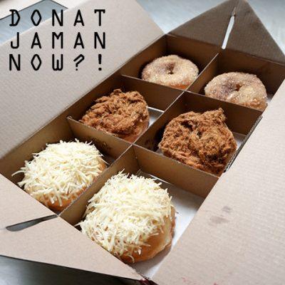 Donat Kampung Jaman Now